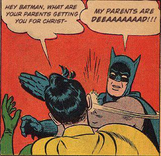 Batman xmas